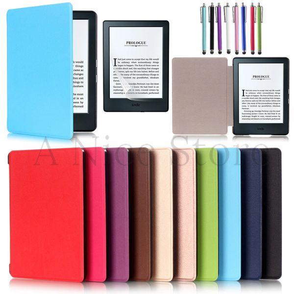 Amazon Kindle E - Reader 8th Generation (2016 Released) Slim Folio Magnetic Case Cover
