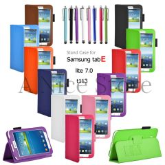 "Tab E Lite 7.0"" Soft PU Leather Cover Case"