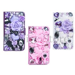 Samsung Galaxy S5 Luxury Magnetic Flip 3D Bling Handmade Fairy Tale Leather Flip Wallet Case