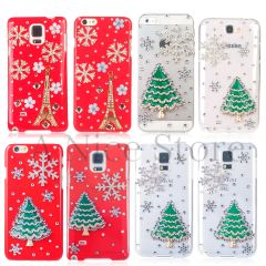 3D Snowflake Christmas Collection handmade Bling Case for iPhone and Galaxy