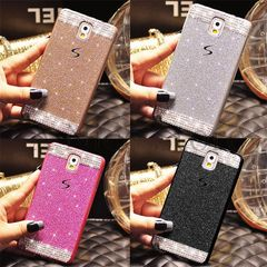 Samsung Galaxy Note 3 Luxury Bling Glitter Hard Plastic Case Cover