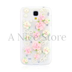 Samsung Galaxy S4 3D Cute Floral Clear Case
