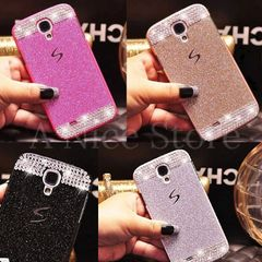 Samsung Galaxy S4 Luxury Bling Glitter Hard Plastic Back Case