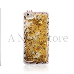 New Luxury Liquid 3D Bling Handmade Diamond Glitter Sparkle Case For iPhone 6/6S/6S Plus