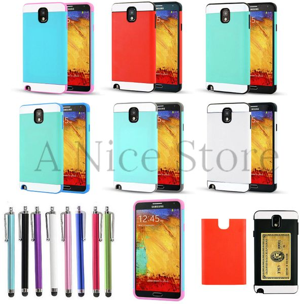 Samsung Galaxy Note 3 Hybrid Best Impact Dual Layer Hard Case Cover