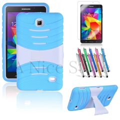 Hybrid Case with Build In (X) Kickstand Case For Samsung Tablet Galaxy Tab 4 7.0 inch (SM-T230)