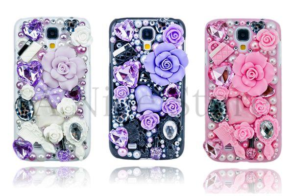 Samsung Galaxy S4 Luxury 3D New Bling Handmade Fairy Tale Design Case