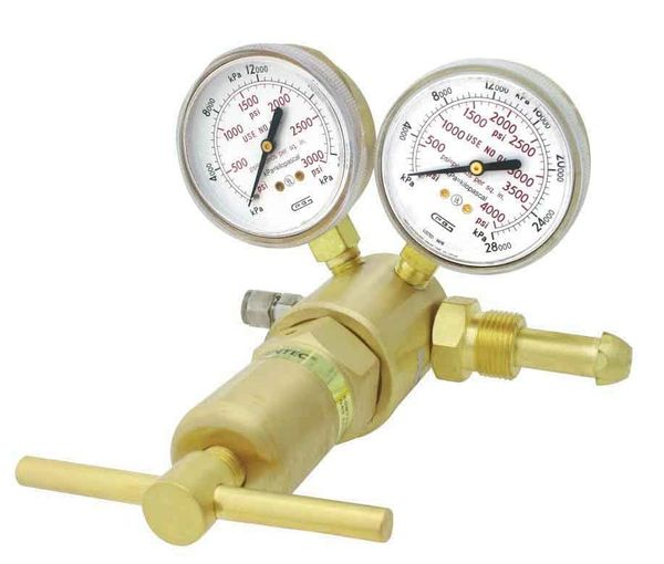 591IN-750 GENTEC Inert Gas Ar He N2 High Pressure Regulator