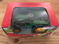 Green, Yellow Wheels Tractor Boxed Britains 9422
