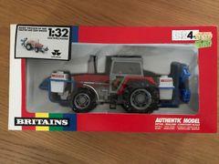 Massey Ferguson 3680 Tractor and Evrard Crop Sprayer Boxed Vintage Britains 9607