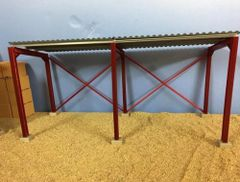 SALE! 5m Single Roof Metal Shed Kit 1:32 Scale HMM54812 by Minimaker