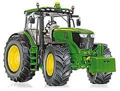 Wiking John Deere 6250R Tractor 1:32 Scale by Wiking 7836