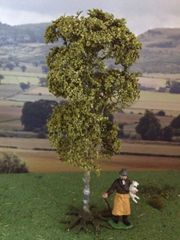 S09 16cms Birch Tree 'Any scale' by JG Miniatures