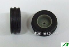 26mm Wheels/Tyres Front Axle 1:32 Scale by Artisan32 (Cat No. 30052/04223)