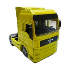MAN TG18.41A Long Haul Truck Tractor Unit Yellow 1:32 Scale NewRay 10843F