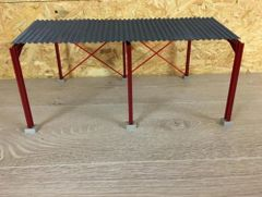 SALE! 5m High Apex Roof Metal Shed 1:32 Scale HM50912 by Minimaker