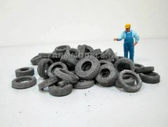 Assorted Old Weathered Silage ClampTyres by Juweela 23349