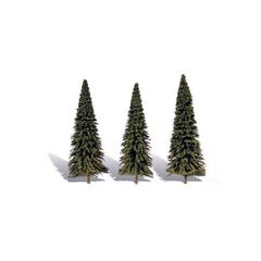 7-8in Forever Green Fir Trees (3) by Woodland Scenics WTR3573