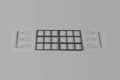 2 x Packs Medium Workshop/Factory Windows 1:32/1:35 Scale FB460