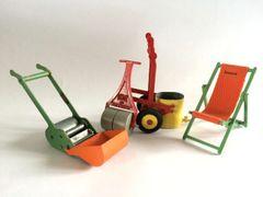 DCMT 'The Jobbing Gardener Set' Vintage Die-cast metal 1/16 Scale
