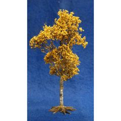 S09D 16cms Autumn Birch Tree 'Any scale' by JG Miniatures