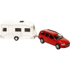Volvo V70 Car & Caravan 1:32 scale by New Ray 521630