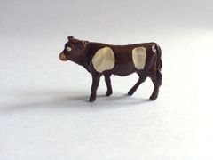 Repainted John Hill Lead Standing Calf with Head Turned for Conversion 1:32 Scale