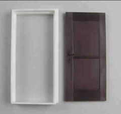 Interior Door with Casing 1:32/1:35 Scale FB505