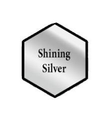 Army Painter Acrylic Paint Shining Silver 18ml Bottle 41129
