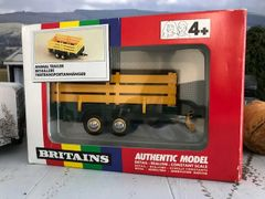 Green Animal Trailer Boxed Vintage Britains 9555