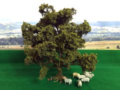 S01 Large Oak Tree 25cms 'Any scale' by JG Miniatures