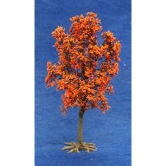 S26 17cms Orange Maple Tree 'Any scale' by JG Miniatures
