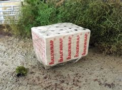 Wrapped Pallet of Silage/Bale Wrap by F.A.B Scenics (FAB09)