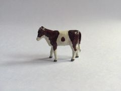 Repainted Taylor and Barrett Hereford Calf for Conversion 1:32 Scale
