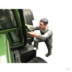 Louis Climbing Tractor Driver Figure Fendt Colours 1:32 Scale by AT-COLLECTIONS 32137
