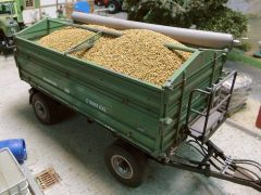 23307 Cereal Crop Vehicle/Trailer Load 1:35/1:32 Scale by Juweela