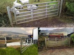 Gate and Post Set 12ft 1:32 Scale by HLT Miniatures WM035 (QUANTITY DISCOUNT AVAILABLE!)