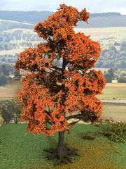 S26B 17cms Russet Maple Tree 'Any scale' by JG Miniatures