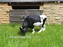 Cow 'Grazing' (Unpainted Resin Casting) 1:32 Scale by HLT Miniatures FAB07