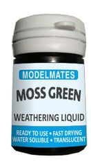 18ml Moss Weathering Liquid Any Scale by Modelmates MM49202