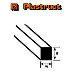 MS-125 Plastruct - Styrene Square Rod 3.2mm (90780)