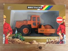 Dynapac Road Roller Boxed Britains Autoway 9912