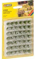 12mm Grass Tufts XL x 42 - Flocked White N07028 Noch