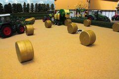BT2081 Cut Corn Field Grass Field Mat by Brushwood