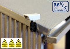 WM057 3x CCTV Cameras 1:32 scale by HLT miniatures