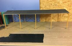 6m High Apex Roof Wooden Shed 1:32 Scale HB60912 by Minimaker