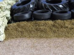 3mm Burnt Grass Flock Static Grass by Woodland Scenics 50cu in shaker WFL633