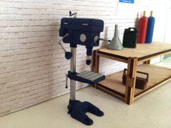 PLM337 Pillar Drill Unpainted Kit in 1:32/1:35 scale by Plusmodel
