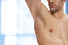 Men Under Arm Wax
