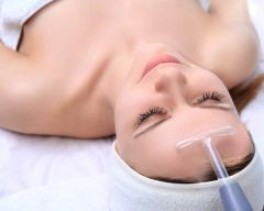 High Frequency Facial Treatment